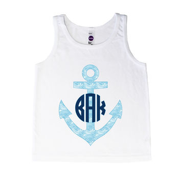 Monogram Wave Anchor - Tank