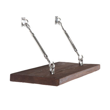 Turnbuckle Wall Shelf