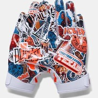 Under Armour Boys UA Texas Limited Edition F5 Youth Football Receiver Gloves