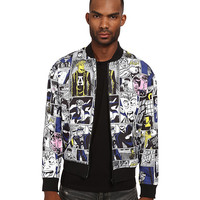 Marc by Marc Jacobs Reversible Comic Print Outerwear
