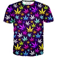 Black Weed T-Shirt