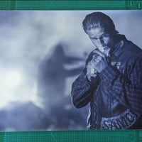 Sons Of Anarchy Crime  Fabric Silk Poster