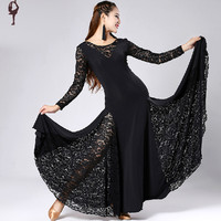 2015 New Ballroom Dance Competition Dresses Stage Costumes For Singers Ballroom Latin Dance Dress Tango/Jazz/Waltz Dancewear