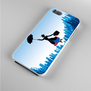 Mary Poppins Blue City Iphone 5s Case