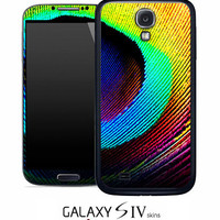 Neon Peacock Skin for the Samsung Galaxy S4, S3, S2, Galaxy Note 1 or 2