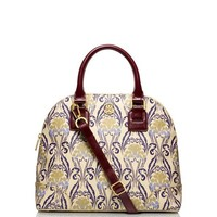 Printed Robinson Small Dome Satchel