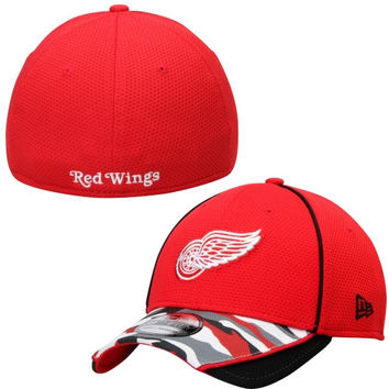 Detroit Red Wings New Era 39THIRTY Camstyle Flex Hat – Red