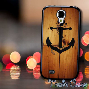 The Anchor Hanging On Wooden,Accessories,Case,Cell Phone, iPhone 4/4S, iPhone 5/5S/5C,Samsung Galaxy S3,Samsung Galaxy S4,Rubber,19/12/17/Rk