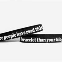 Skinny YOUR BLOG Bracelet