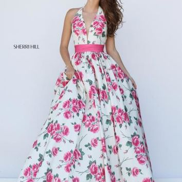 Sherri Hill Dress 50472 at Prom Dress Shop