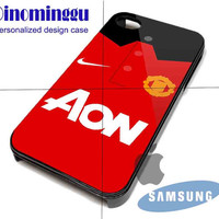 Manchester United Kit Season for iPhone 4/4S/5/5S/5C Case, Samsung Galaxy S3/S4 Case, iPod Touch 4/5 Case