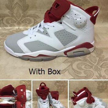Air Jordan 6 Retro Alternate 6s Top Quality Basketball Shoes With Box