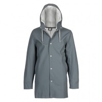 Stockholm Charcoal - Grey Raincoat – Stutterheim Raincoats