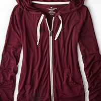 AEO Women's Soft & Sexy Full-zip Hoodie
