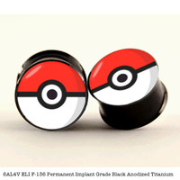 Poke Ball Plugs by Plug Club — Plug Club
