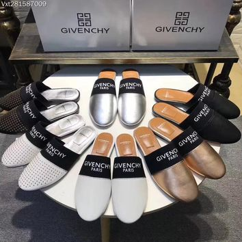 """Givenchy"" New Flat Sandals, Slippers"