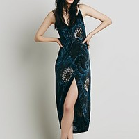 Free People Womens Summer Lady Printed Dress