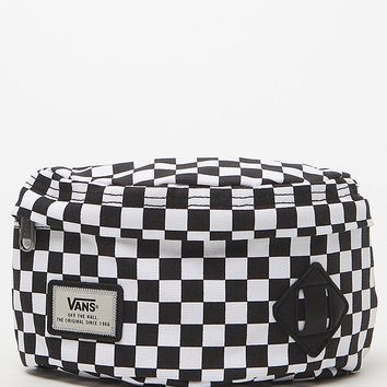 Vans Checker Aliso Hip Pack - Mens Backpacks - Black - One