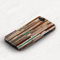 Unique iphone case Wood iPhone case Geometric iPhone 5s case Stripe iPhone 5c case iPhone 4s case iPhone 4 case hipster iPhone 5 case c309