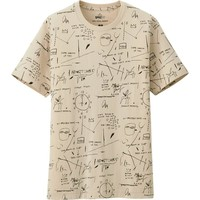 MEN SPRZ NY GRAPHIC T SHIRT (JEAN-MICHEL BASQUIAT) | UNIQLO