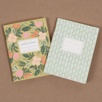 Rifle Paper Company Pocket Notebook - Green Floral