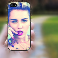 ipod 5 case,ipod 4 case,S3 mini,S4 mini,z10 case,q10 case,iphone 4 case,iphone 4s case,cute iphone 4 case--Miley cyrus,in plastic,silicone.