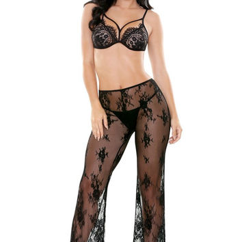 Genie Bralette with Matching Lace Pant
