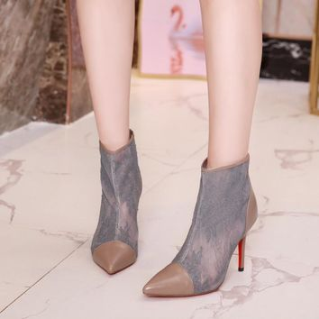CL Women Casual Shoes Boots  fashionable casual leather