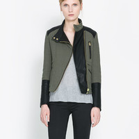 QUILTED CROSSOVER JACKET - Blazers - Woman | ZARA United States