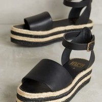 Fortress of Inca Ella Luz Flatforms in Black Size: