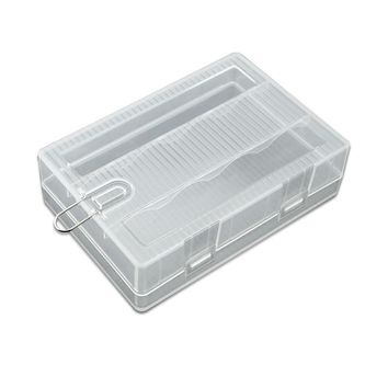 NEW Soshine Portable Hard Plastic Case Holder Storage Box for 4 x 26650 Batteries