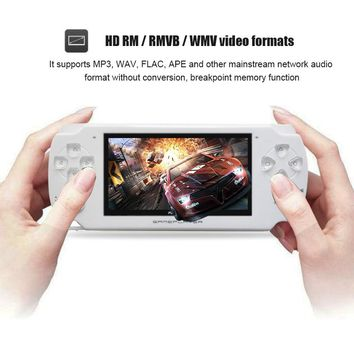 4.3 Inch Ultra-Thin 8GB Memory handheld game  player Video Game Console MP5 Music Player  support Camera video for E-Book