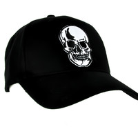 Halloween Skull Hat Gothic Horror Baseball Cap Gothic Punk Clothing