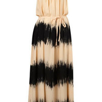 Tie Dye T Back Maxi Cover Up