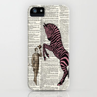 Hello Miss Zebra by Adidit iPhone Case by Adidit | Society6