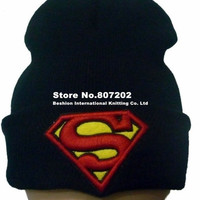 High Quality Beanie hat ,superman wool warm knitted caps and winter hats for man and women hip hop warm Skullies & Beanies = 1946613572