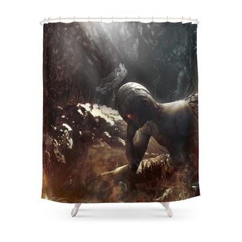 Society6 At Hell's Gate Shower Curtains