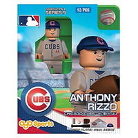 MLB Chicago Cubs Anthony Rizzo Generation 4 Mini Figure, Small, Black