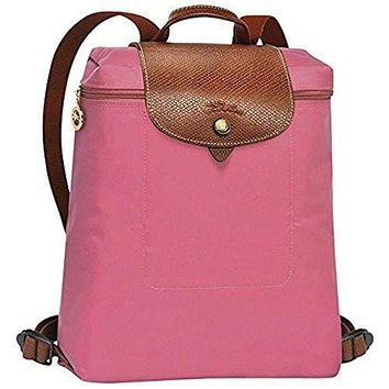 VON7Y1 Beauty Ticks Longchamp Le Pliages Backpack Peony