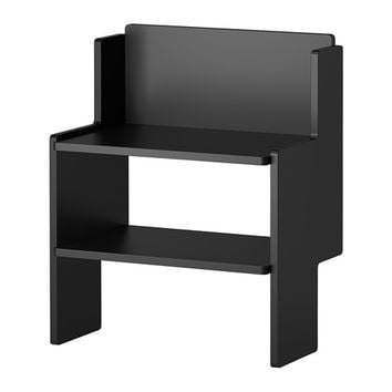 "IKEA PS 2012 Bench with shoe storage, black - 20 1/2x13 "" - IKEA"