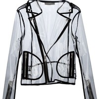 Wanda Nylon Short Zip-up Rain Jacket - Smets - Farfetch.com