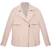 Ride With Me Nude Moto Jacket