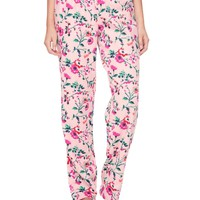 Winter Blossom Flannel Pant by Juicy Couture