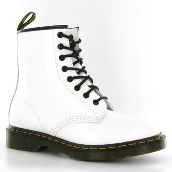Dr.Martens 1460 White Smooth Leather Womens Boots