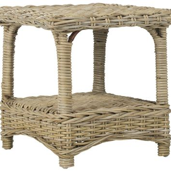 Bowen Side Table Natural Unfinished