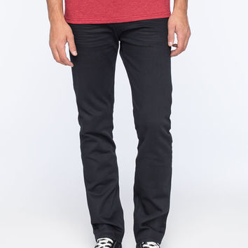Levi's 513 Pepper Pot Mens Slim Straight Jeans Blue/Black  In Sizes