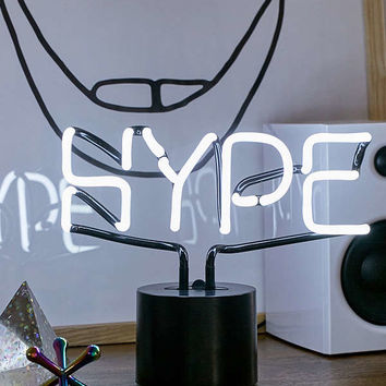 Hype Neon Sign Table Lamp | Urban Outfitters