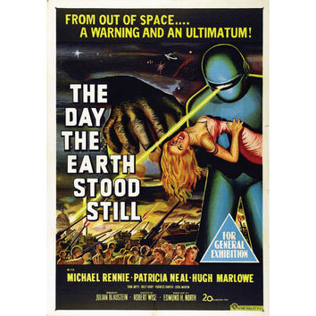 Day The Earth Stood Still Domestic Poster