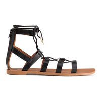 H&M Sandals with Lacing $12.99