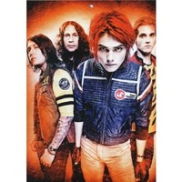My Chemical Romance 14x20 Alternative Rock Artists ArtPrint Poster 021C/Small Size